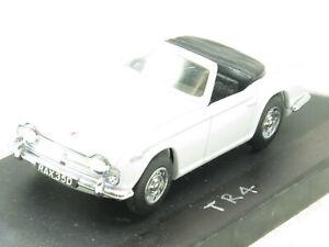 Vitesse Miniature Triumph TR4A Blanc Haut Ouvert 1 43 Echelle Emballé