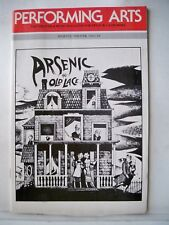 ARSENIC AND OLD LACE Playbill JEAN STAPLETON / POLLY HOLLIDAY Tryout DALLAS 1986