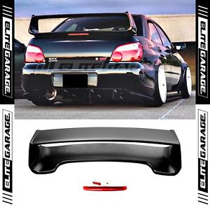 Boot Trunk Spoiler for Subaru Impreza WRX STI (2001-2007) ABS Black STI STYLE
