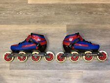 Bont 3 Point Inline Speed Skate Boot Heatmoldable Size US 7.5 EU 40
