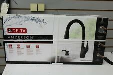 Delta Anderson Matte Black 1-Handle  Pull-Down Kitchen Faucet 19998Z-BLSD-DST