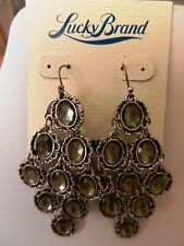Lucky Brand Tahitian Floral  Flex Earrings  MSRP $42