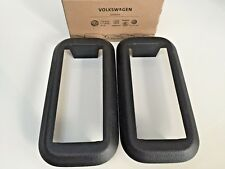 2 x VW Genuine Kombi Seat Bracket Plastic Cover Pair for Volkswagen T5/T6 Van