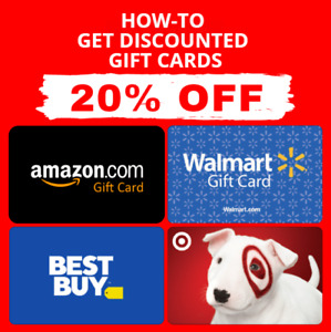 PDF GUIDE ▶️🔥Get Amazon Gift Card Walmart Target  Best Buy Gift Card 5-20% OFF