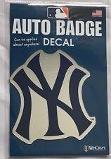 New York Yankees Auto Badge Decal