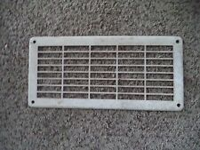 Vintage mid century 50's Wall Heat Register Metal Heat Grate Cover