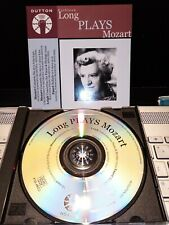KATHLEEN LONG*DUTTON 2001*MOZART PIANO CONCERTOS NOS. 15 & 24 ETC*LIKE NEW