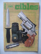 CIBLES n° 183 - 686 SPECIAL - FUSIL Mle 1917 - COLT NAVY 1851 - GOVERNMENT Mk IV