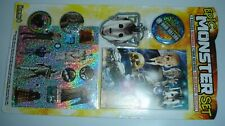 Dr Doctor Who Adventures Epic Monster Set Toy Only Badges, Notebook, Keyring ++