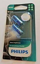 Philips X-tremeVision Pro150 W5W  White Xenon Effect Sidelight 12V 5w -Pack of 2