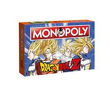 Monopoly Dragon Ball Z Dragonball Anime Juego de Mesa Juego de Mesa Juego