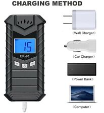 Alcohol Breathalyzer - USB Rechargeable, Portable and Convenient(10 mouthpieces)
