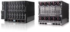 HP 10U C7000 Blade Chassis, 6x PSU, 10x fans, 2x OA + 2x Cisco 3020 Switches