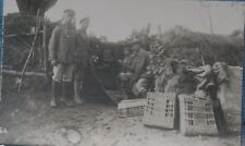 W.W. 1 German soldiers postcard Ww1