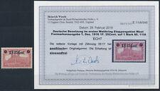 Etappe West 1 Franc 25 Cent 1916** gute Type Michel 11 I A Befund (S15508)