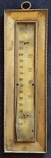 "Antique sterling ""Blood Heat"" Fahrenheit thermometer 2705"