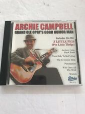 ARCHIE CAMPBELL - GRAND OLE OPRY'S GOOD HUMOR MAN - CD - Ships N 24h