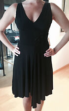 FOREVER 21 Women's Black V-Neck Salsa Dress Size Small NEW w TAGS