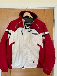 Spyder Mens Medium Red Ski Jacket (Dermizax Thinsulate Entrant)