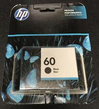 HP Original 60 Black Ink- Warranty Ends: 03/2020+
