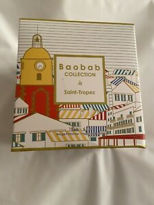 Baobab Collection Saint Tropaz Candle 190g. New & Boxed. *Box Not Perfect*