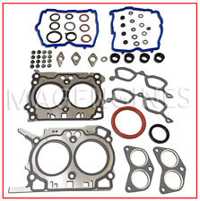FULL GASKET KIT SUBARU FB25 DOHC 10105-AB410 FOR FORESTER X 2.5 LTR 10-12