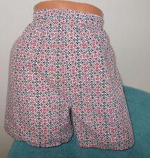 Vintage Hanes Multi-Color Geometric Print 50/50 Boxer Briefs Men's Underwear L