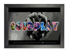 Coldplay 1 Artwork British Rock Band Picture Chris Martin Print Music Poster