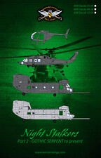 WW Decals 72-04Night Stalkers-Part 2- GOTHIC SERPENT to Present