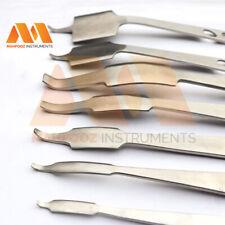 Hohmann Retractor Bone Lever orthopaedic Vet Surgery Instrument 7 Pcs Set