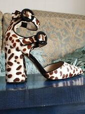 Office Animal print shoes size 36 (3-4) BN