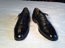 Crown Imperial Men's Black Leather Formal Shoes size 10 D