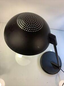Ledu Incandescent Desk Lamp with Vented Dome Shade, Matte Black