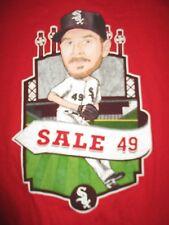 CHRIS SALE No. 49 CHICAGO WHITE SOX (MED) T-Shirt