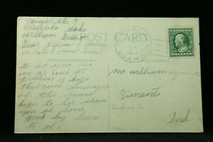 Idaho: Clearlake 1911 Greetings From Postcard, Doane 2/1, DPO Gooding Co