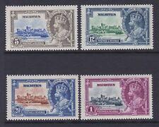 MAURITIUS 1935 SILVER JUBILEE SG 245-248 MNH.