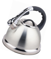 Buckingham Stainless Steel Stove Top Induction Gas Whistling Kettle 3.5 L - Matt