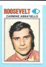 Rare 1977 Roosevelt Raceway Carmine Abbatiello Horse Harness racing Card