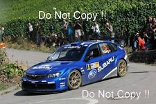 Petter Solberg Subaru Impreza WRC2008 RALLYE DEUTSCHLAND 2008 Photographie 1