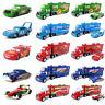 Disney Pixar Cars Mack Racer's Hauler Truck & Racers Toy Car 1:55 Kids Gift New