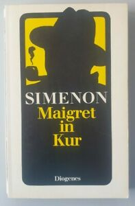 Diogenes Krimi Klassiker Georges Simenon Maigret in Kur.