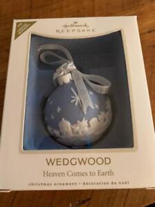 Hallmark Keepsake Ornament Wedgwood Heaven Comes to Earth Limited 2008 NIB