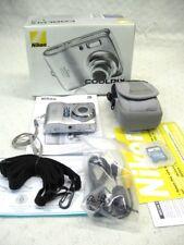 Mint Nikon CoolPix L4 Digital Camera with Case and Usb Cable Box Guaranteed Item
