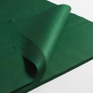"""GREEN ACID FREE TISSUE WRAPPING PAPER SIZE 450 X 700MM 18 X 28"""""""