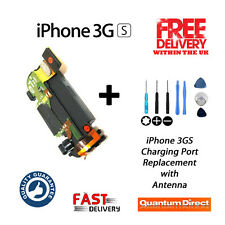 NEW iPhone 3GS 30 Pin Charging Dock/Port Replacement inc Antenna FREE Tools