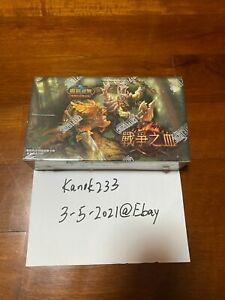 [El Pollo Grande Chance] World of Warcraft TCG Drums of War Factory Sealed Box