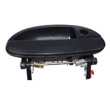 For 99-02 Daewoo Nubira Front Right Exterior Door Handle Smooth Black 96308043