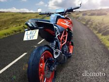 For KTM Duke 125/390.       2017 on.     Tail Tidy, Fender Eliminator.
