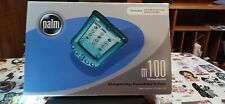Palm Pilot M100 Personal Digital Assistant Pda With Box Cds And Manual Working!