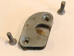 1967-74 VW Karmann Ghia Drivers Side Door Striker Plate used with screws